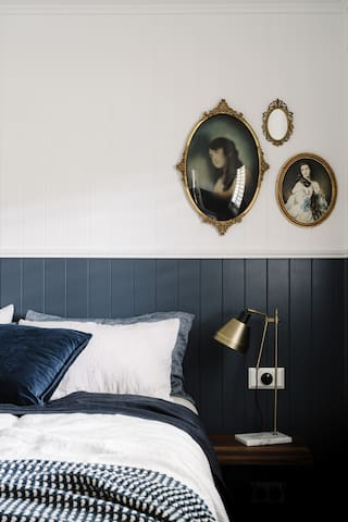 Slip into bed with luxurious linen sheets