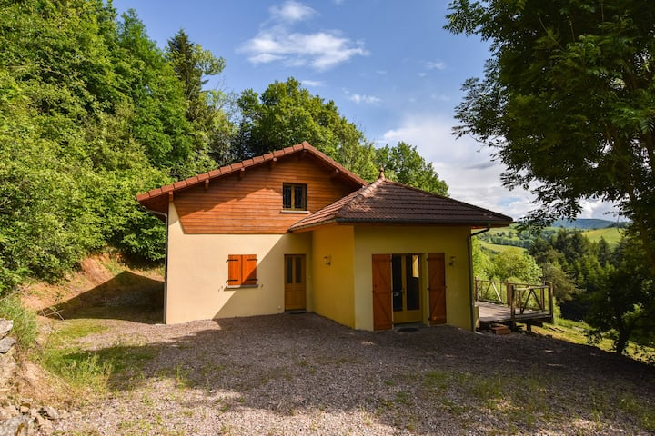 Cozy house in Auvergne with Private Terrace, beautiful views