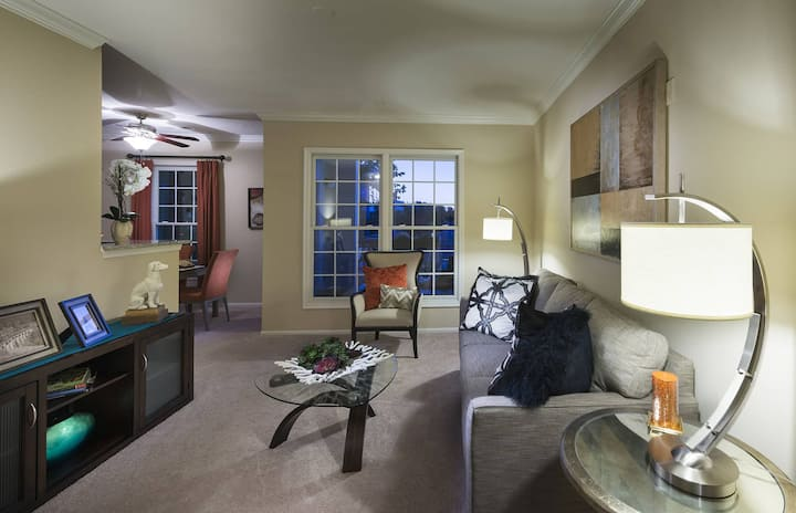 Stretch out. Work. Unwind. | 1BR in Herndon