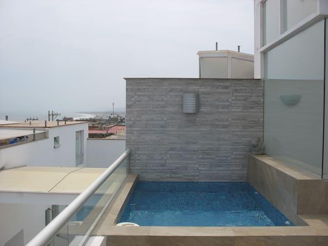 Alquiler de Apartamento en Playa Pulpos - Lurin - Wohnung