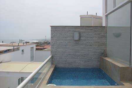 Alquiler de Apartamento en Playa Pulpos - Lurin - Kondominium