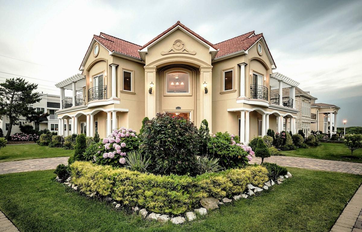 Fabulous Direct Ocean Views Luxury Mediterranean Mansion
