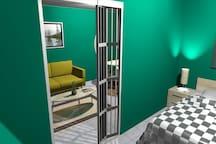 Appartement cocooning entièrement refait a neuf