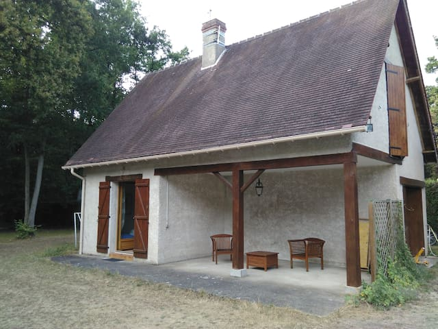 Lovely house near Chantilly, with garden and pool - Lamorlaye - Huis