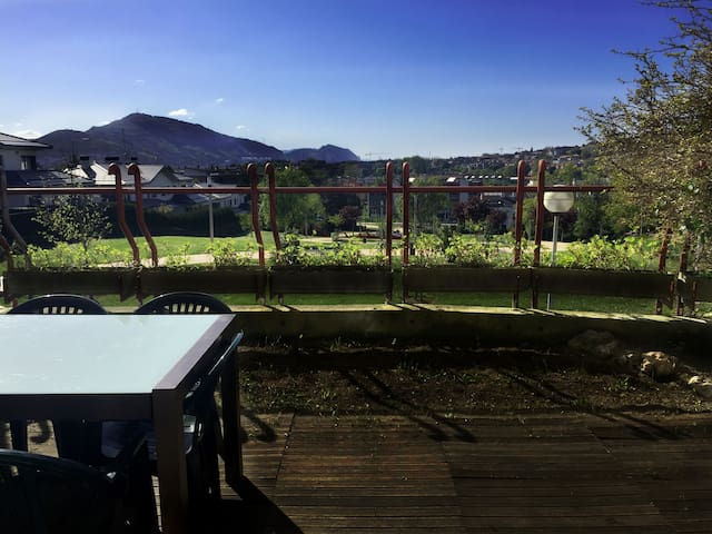 DUPLEX between Bilbao and beaches, excellent views - Leioa - House