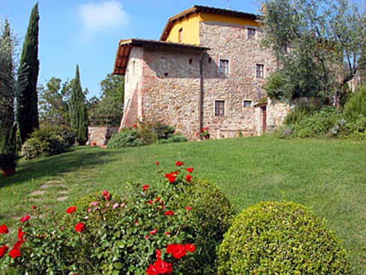 casa panoramica in campagna