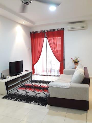 middle room at pelangi utama condo fully furnish