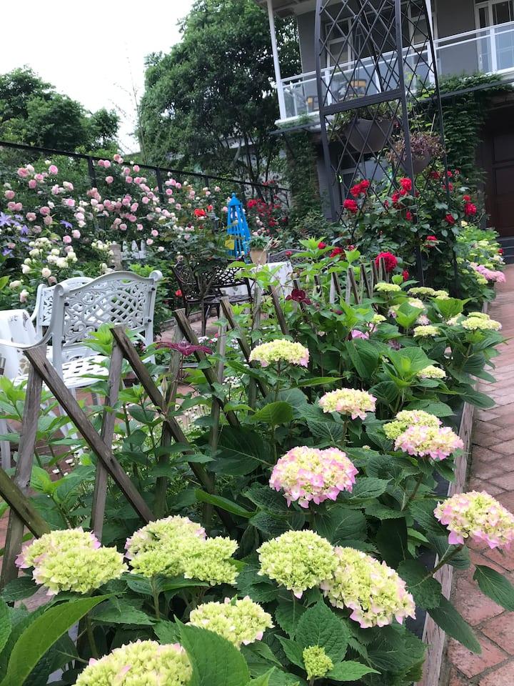 慢2花园观景大床房