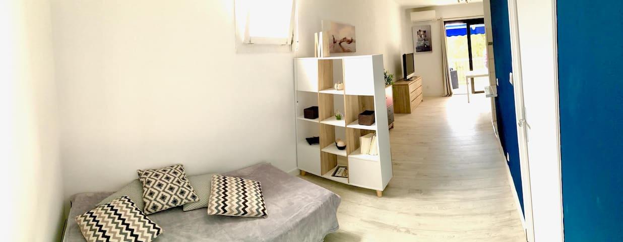 Grand Studio climatisé