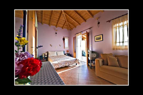 Large studio close to the best beaches of Lefkada