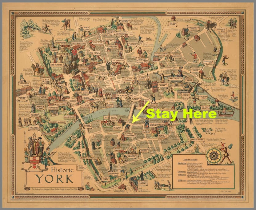 Historic York. Stay in the Centre of everything!