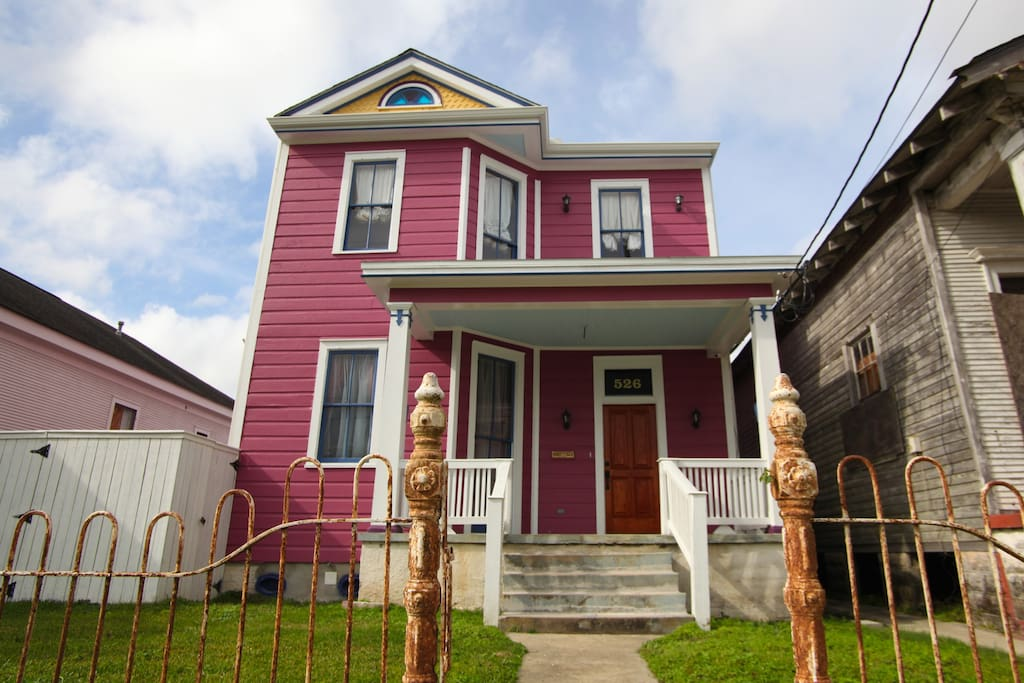 Newly restored turn of the century home in historic neighborhood of Holy Cross.