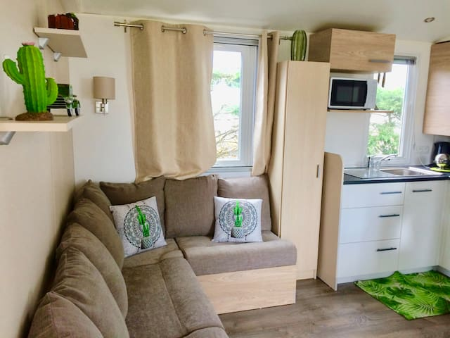 Le Mexicain - Mobilhome 4/6p Vue Mer Conguel