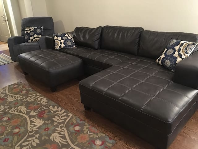Brand new couch and reclining chair