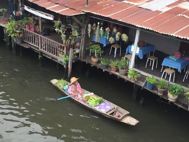 Paddle home (Khlong Bang luang) Near MRT Bang Phai