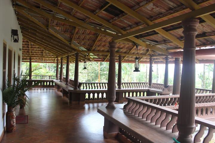 Wayal Wayanad,Heritage villa Homestay amidst green