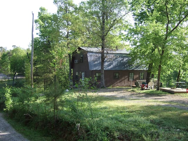 Windchimes Cabin-Seasonal View of Ouachita River