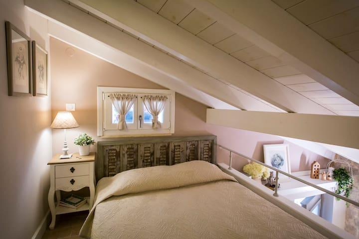 Εσωτερικό πατάρι  - Υπνοδωμάτιο