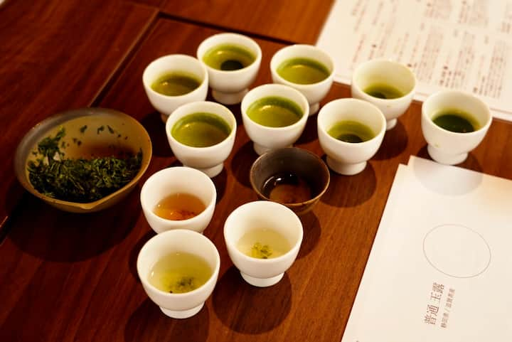 We will be tasting 9 different teas