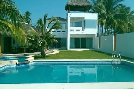 beachfront home Matanchen San Blas Riviera Nayarit - San Blas