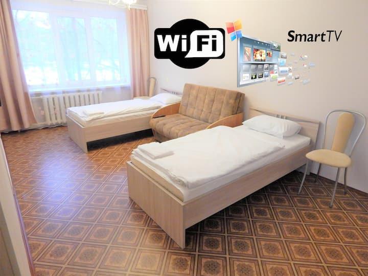 Квартира на Ленина с двумя спальнями.