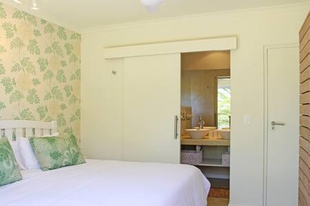 Bedroom with ensuite bathroom & walk in shower