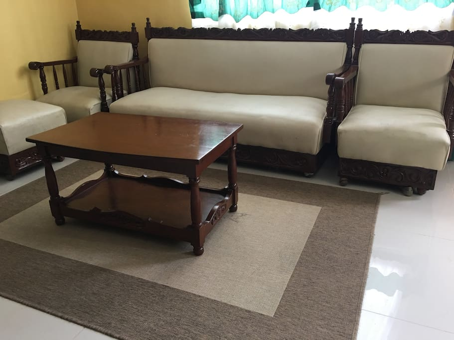 our sofa made from narra wood which has been existing for several decades now