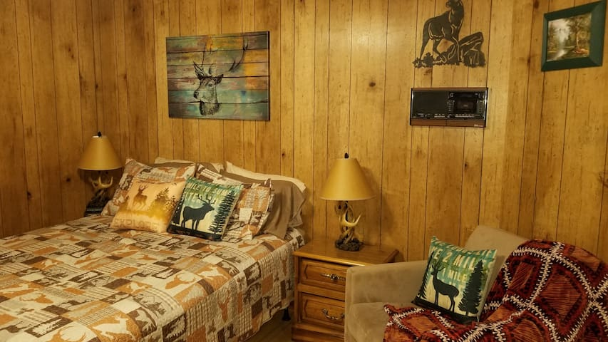 Rustic Deer Room - 4miles to Helen - Mountain Home