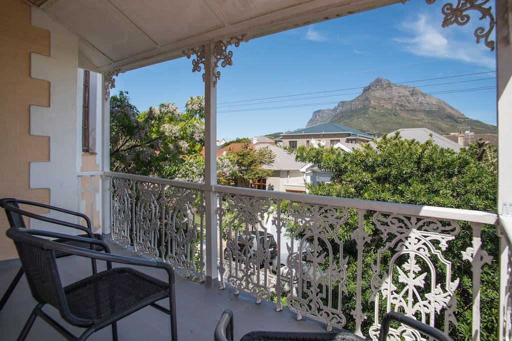Views of Devil's Peak mountain from your room and the large balcony just outside.