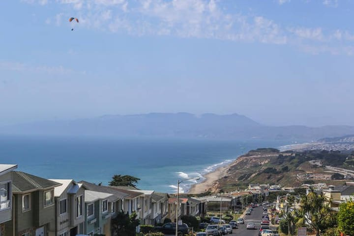 Awesome Ocean View 5 Bedroom House - Daly City - Huis