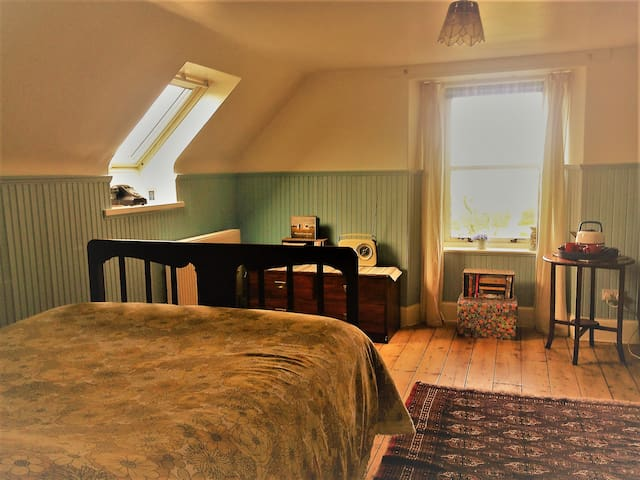 Double room at the Old Station House nr Inverness - Kirkhill - บ้าน