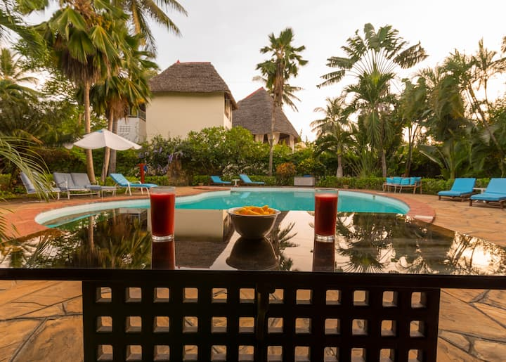 3-bedroom Villa in Diani, 300m from the beach