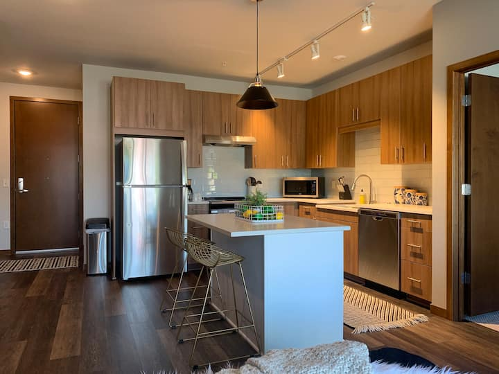 129 Urban Oasis in Shoreview 2bd/2ba Home