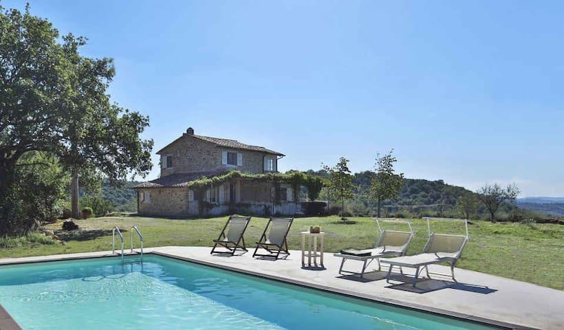 La Campanina - Characterful House near Saturnia - Manciano - Villa