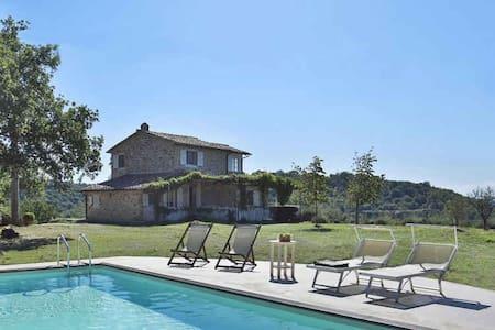 La Campanina - Characterful House near Saturnia - Manciano - Vila