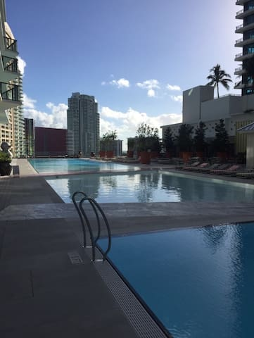 Brickell 1 Bedroom Apartment with Great Amenities