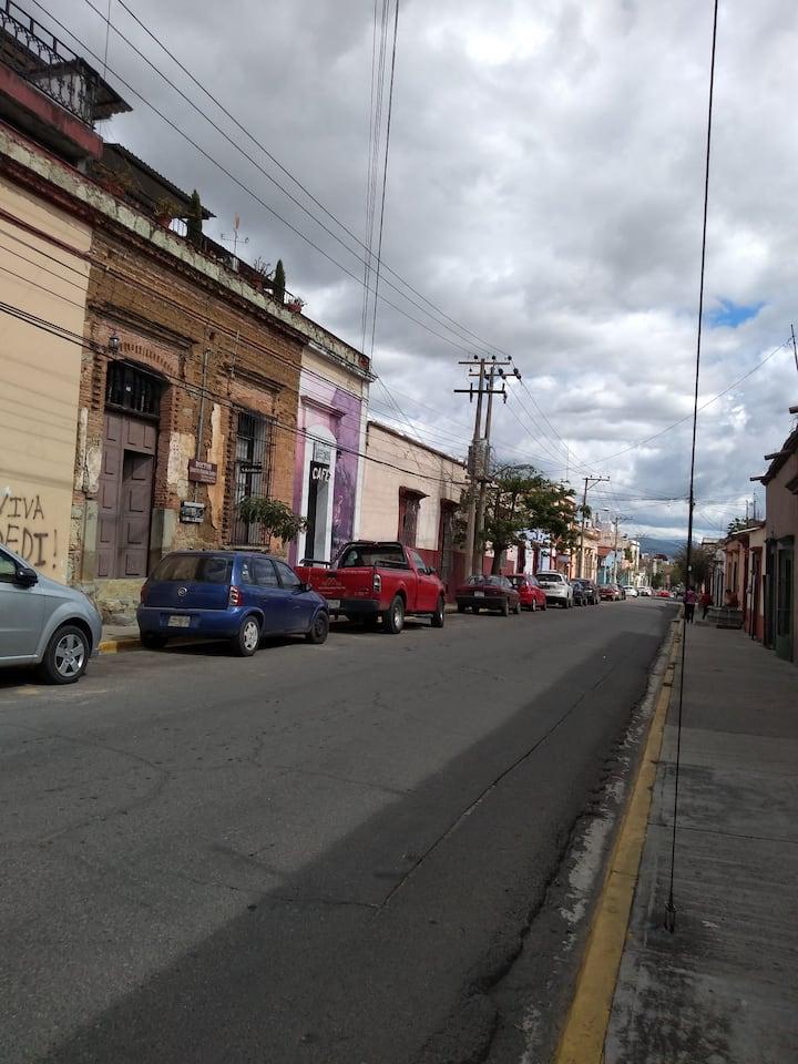Habitación cómoda y segura, centro Oaxaca