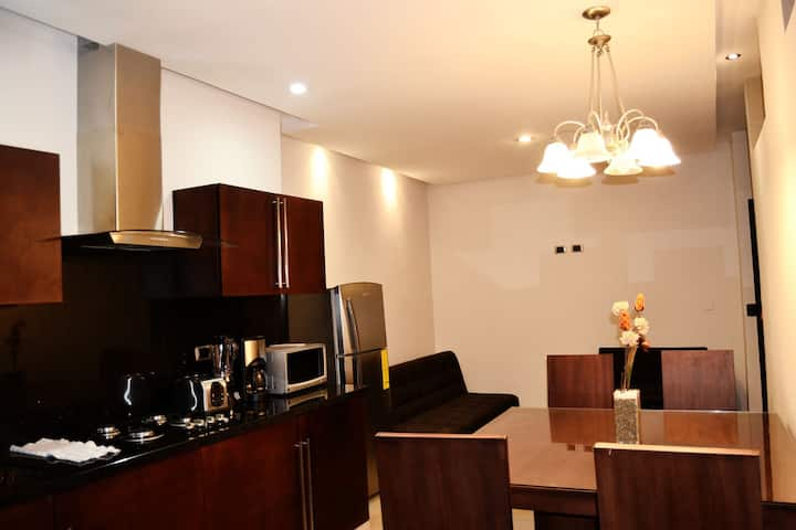 Sunny II, Two-Bedroom Suite, Terra Sur Cuenca.