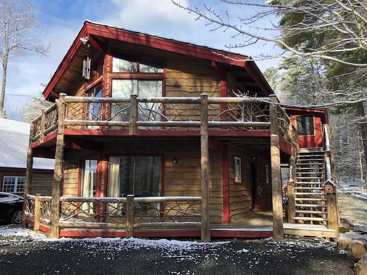 Rustic Ski/Tree House in Adirondacks -  adkth@com