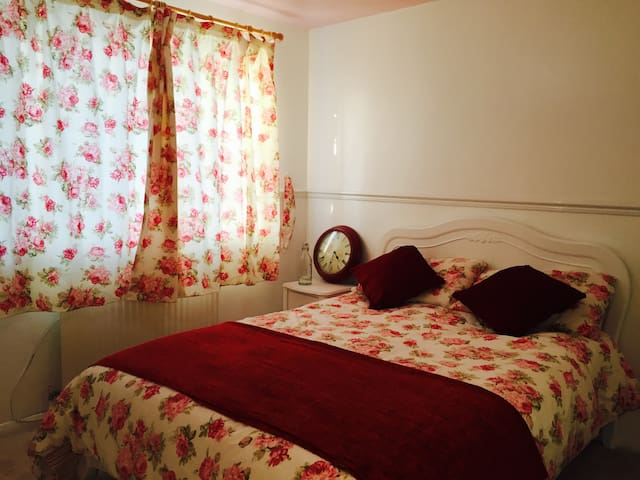 Beautiful double bed room professional only