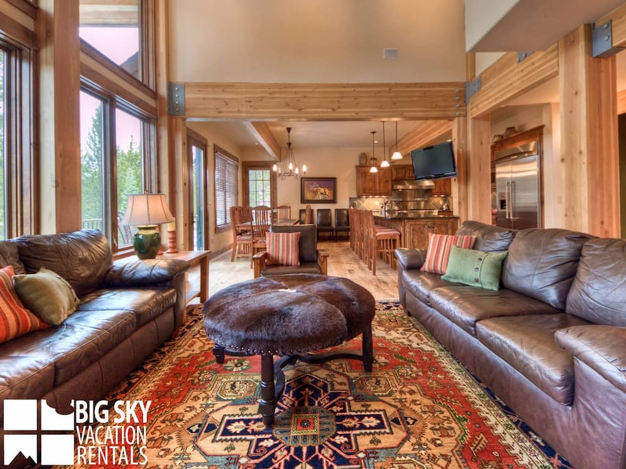 Big Sky Resort, Moosecreek Lodge, Living, 4