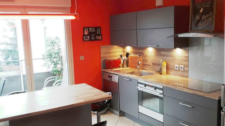 Appartement cosy dans résidence de 2010