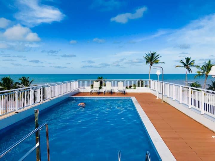 Apt à Beira-Mar Cabo Branco c ótima área de lazer