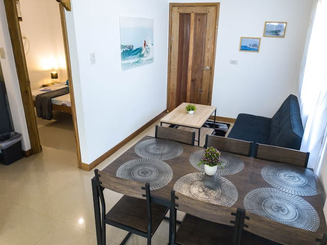 ★2BR Surfer House | 5min to beach, WI-FI