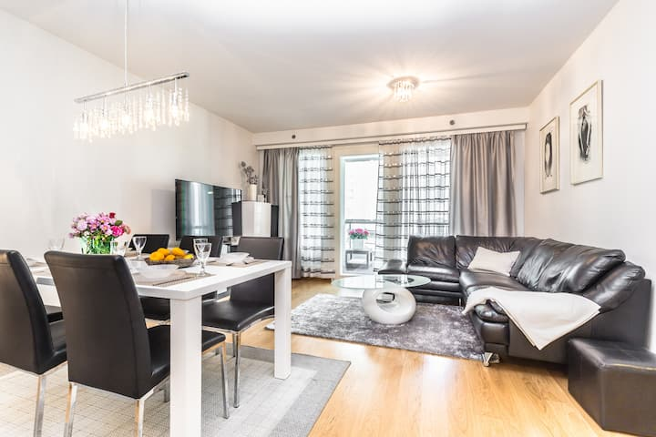 Modern 2 bedroom home with large balcony