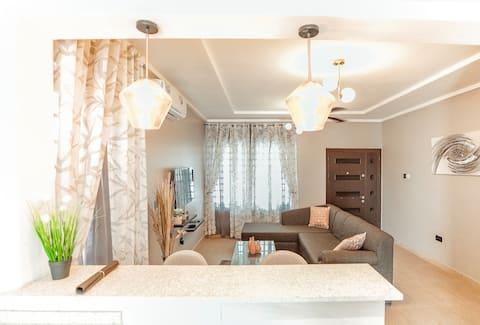 Comfy & Modern 2BR apartment at Spintex
