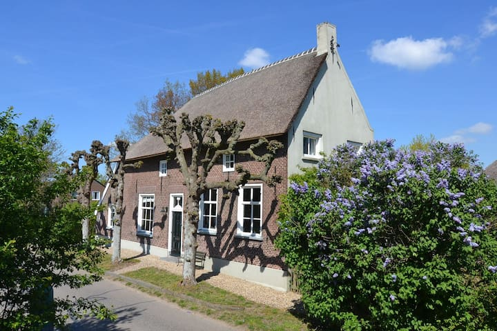 Farmhouse between the rivers - Horssen