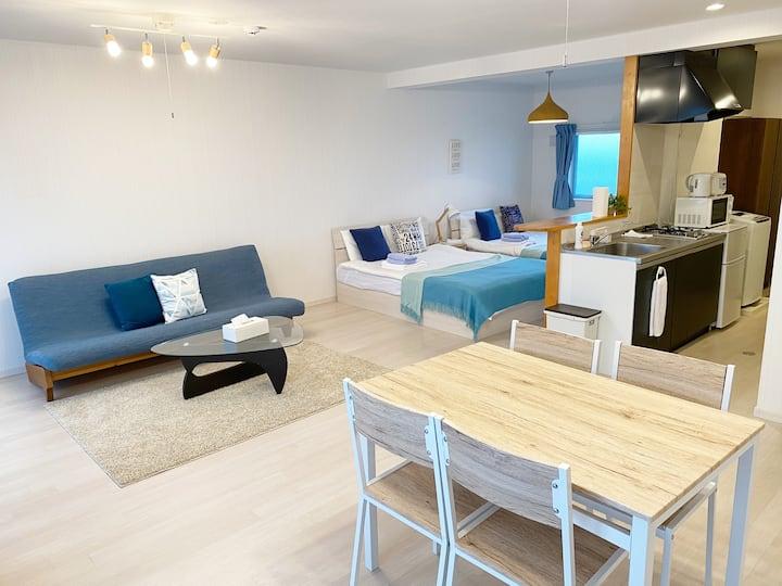 Ocean view apartment in Okinawa mainland  502