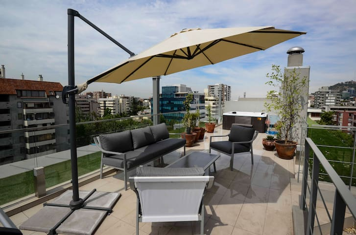 Exclusive rooftop in Providencia