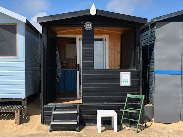 Beach Hut: Walton on the Naze, 361 Eastcliff Beach